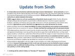 update from sindh1