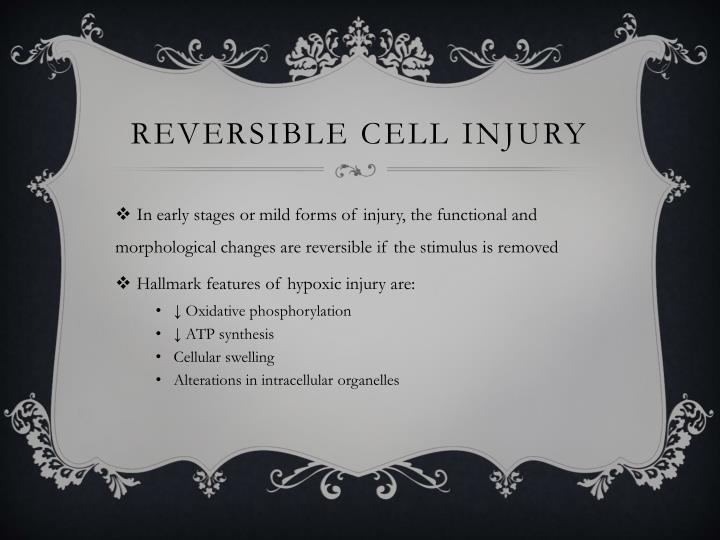 Reversible Cell Injury