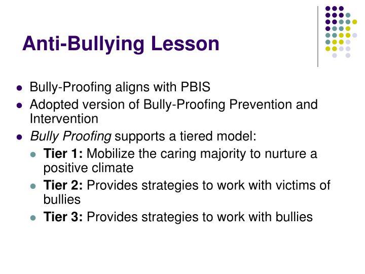 Anti-Bullying Lesson