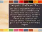 integrated healthcare clinic