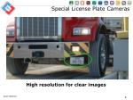 special license plate cameras