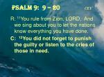 psalm 9 9 20 cev1