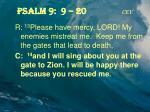 psalm 9 9 20 cev2