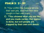 psalm 9 9 20 cev3