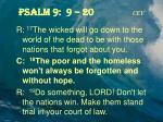 psalm 9 9 20 cev4
