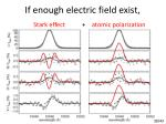 if enough electric field exist