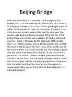 beijing bridge
