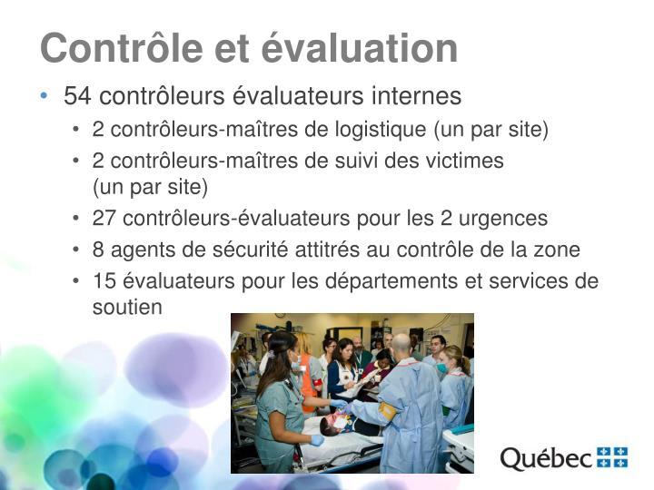 Contrôle et évaluation