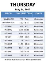 thursday may 24 2012