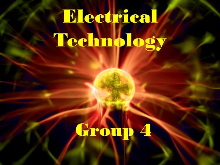 electrical technology n.