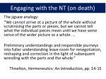 engagin g with the nt on death1
