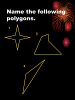 name the following polygons1