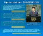 riparian positions turkmenistan