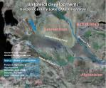 unilateral developments golden century lake of turkmenistan