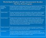world bank roghun project assessment studies