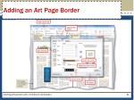 adding an art page border1