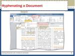 hyphenating a document1