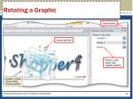 rotating a graphic1
