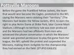 pottsville maroons1