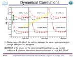 dynamical correlations