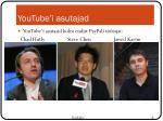 youtube i asutajad