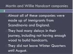 martin and willie handcart companies1