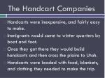 the handcart companies