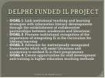 delphe funded il project