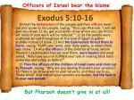 exodus 5 10 16