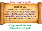 exodus 5 3