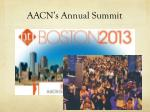 aacn s annual summit