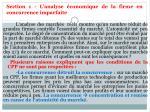 section 1 l analyse conomique de la firme en concurrence imparfaite