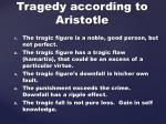 tragedy according to aristotle