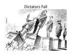 dictators fall