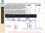 direct observation of na ions inside the g quadruplex channel