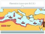 phoenicia 1500 500 b c e