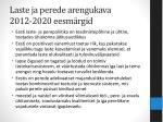 laste ja perede arengukava 2012 2020 eesm rgid