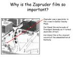 why is the zapruder film so important