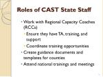 roles of cast state staff1