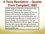 a toxic revelation quotes from campbell 1983