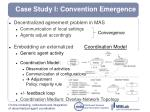 case study i convention emergence