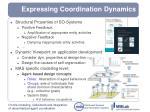 expressing coordination dynamics