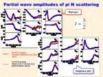 partial wave amplitudes of pi n scattering