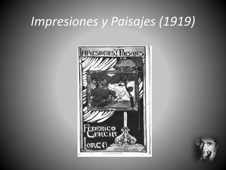 Impresiones y paisajes 1919