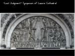 last judgment tympanum of lazare cathedral