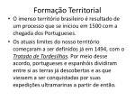 forma o territorial