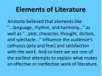 elements of literature1