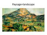 paysage landscape