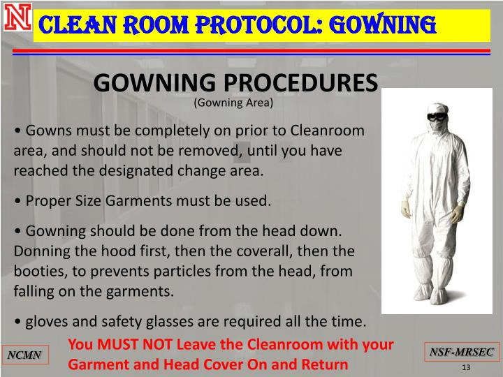 Magnificent Cleanroom Gowning Procedure Photo - Ball Gown Wedding ...