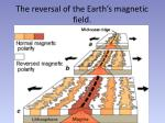 the reversal of the earth s magnetic field